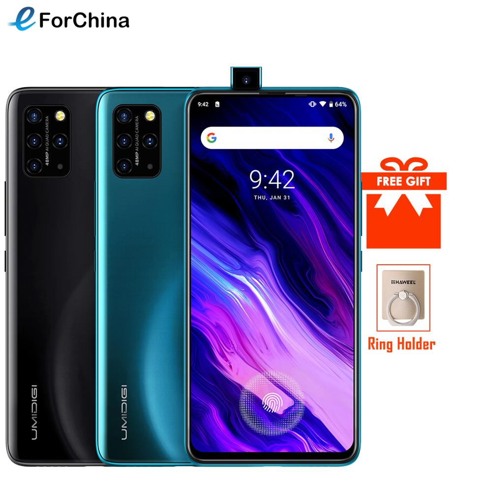 UMIDIGI S5 Pro Helio G90T Gaming Processor 6GB 256GB Smartphone FHD+ AMOLED In-screen Fingerprint Pop-up Selfie Camera 48MP NFC