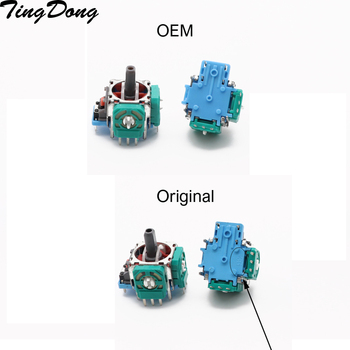 2pcs Original OEM 3D Joystick Axis Analog Sensor Module Replacement for Playstation4 PS4 Controller недорого