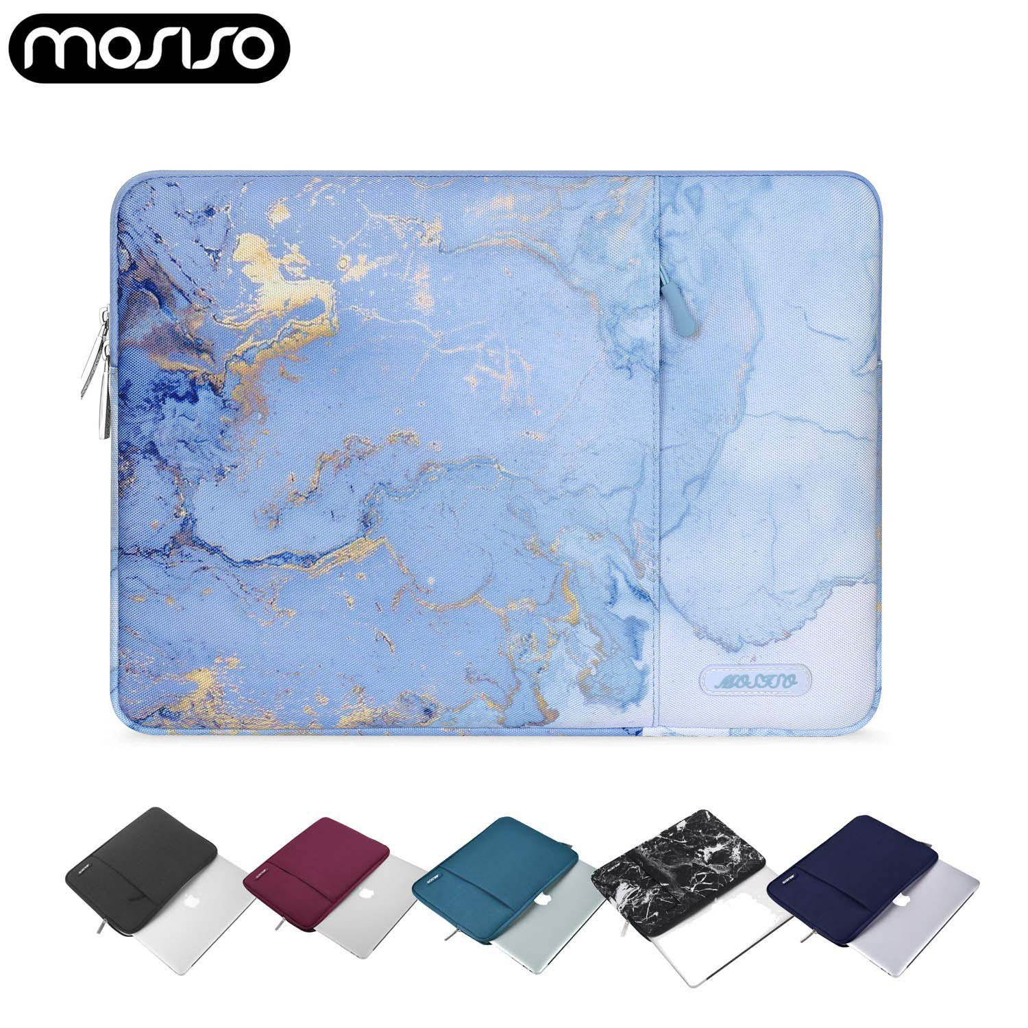MOSISO Laptop Sleeve Bag Case For Macbook Air Pro 13 15 16 Touch Bar Notebook Sleeve Cover 11 12 13 14 15inch For Dell/HP/Acer