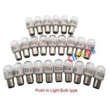 25 STUKS Push In Type Led lampen voor Thuis Naaimachine 0.5W 220 Volt # LED BA15D