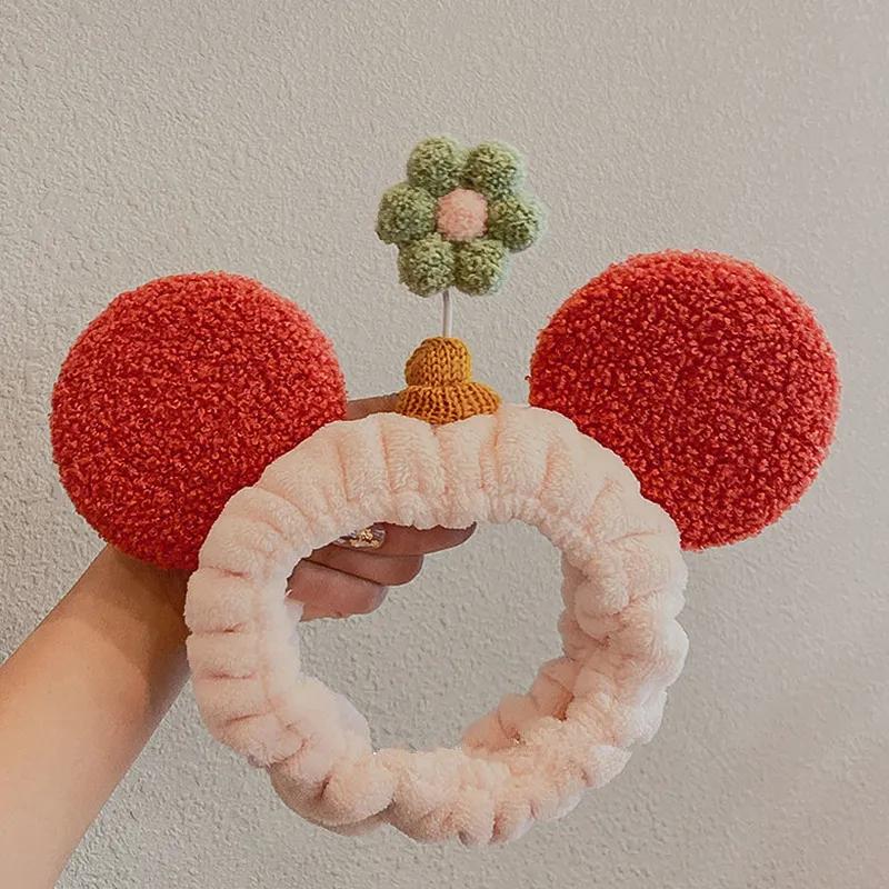 Women Mickey /& Minnie Turban Headband