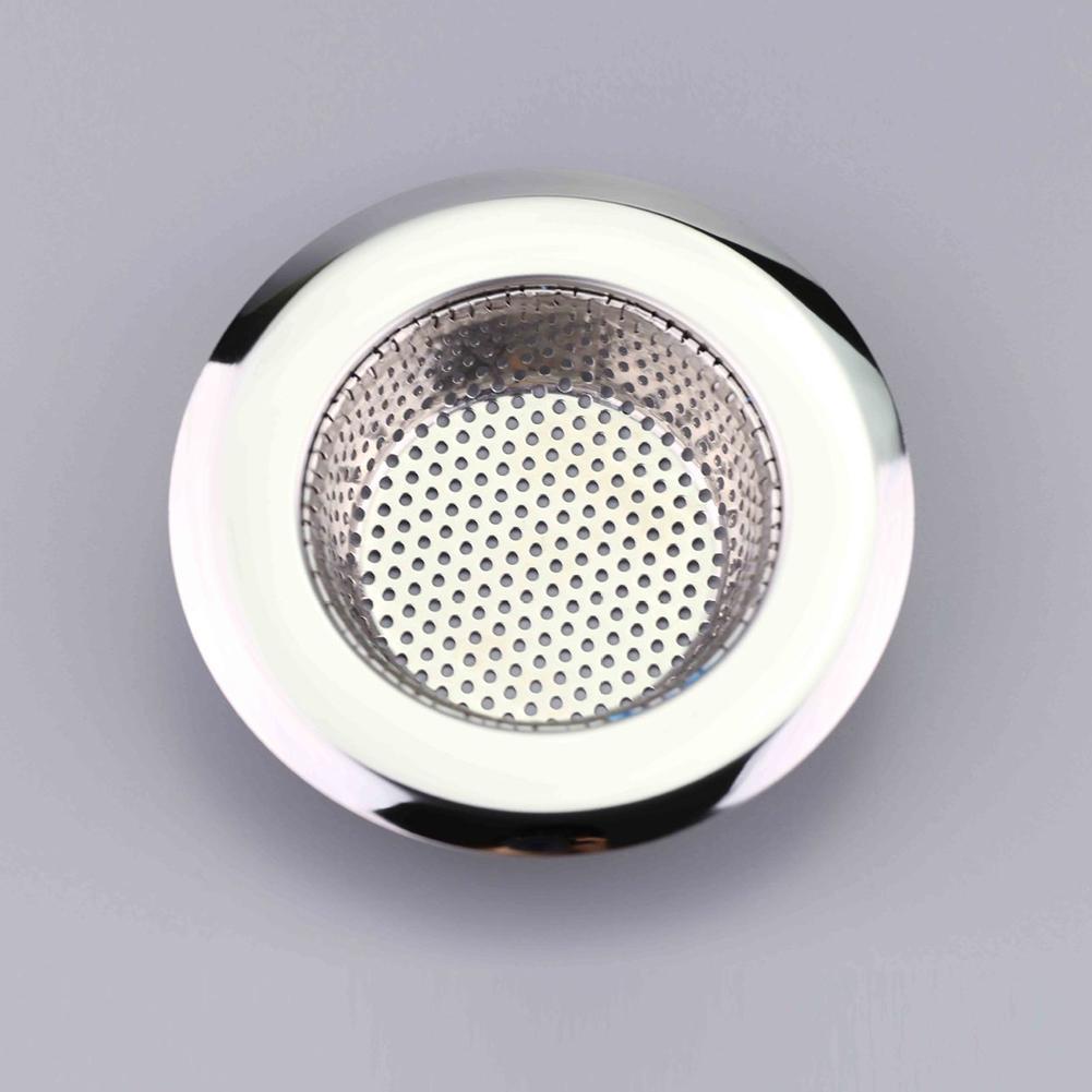 Kitchen Bathroom Sink Sewer Strainer Filter Net Floor Drain Stopper Bath Catcher