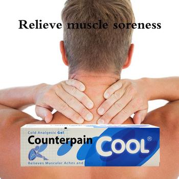 120G tajlandia Counterpain fajne przeciwbólowe krem odpowiednie reumatoidalne zapalenie stawów ból stawów powrót ulga w bólu balsam przeciwbólowe maści tanie i dobre opinie Counterpain Cool Ciało 60G 120G Massage Relaxation