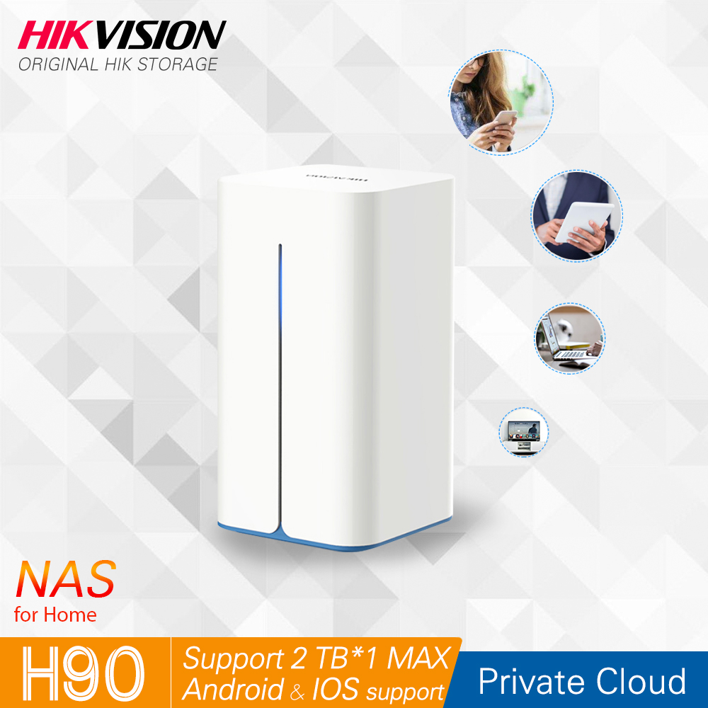Hikvision NAS Private Cloud Sharing Network Attached Storage Server for Home support HDD SSD 2 5 inch HikStorage H90