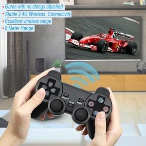Image 5 - עבור PS2 אלחוטי בקר Gamepad Manette עבור פלייסטיישן 2 Controle Mando Wireless ג ויסטיק עבור PS2 קונסולת אבזר