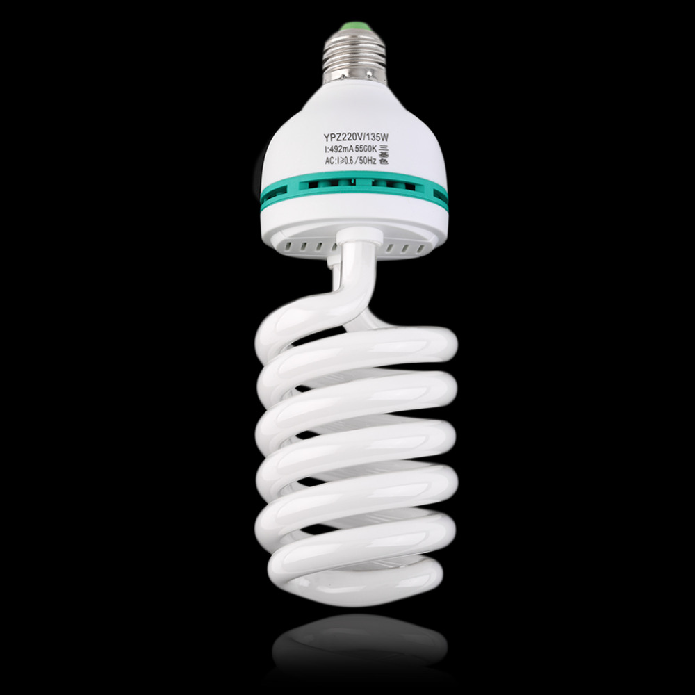 Photographic Lampada Led Bulb E27 220V 5500K 135W Photo Studio Video Leds Light Photography Daylight Lamp For Digital Camera