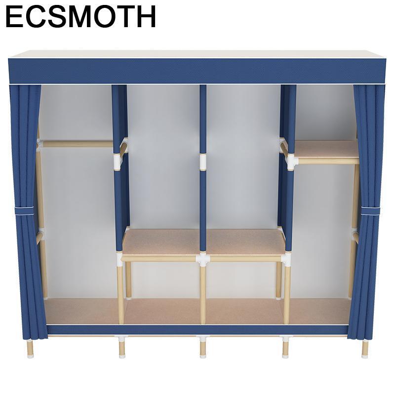 Kleiderschrank Storage Armario Tela Meble Ropero font b Closet b font Mueble De Dormitorio Bedroom Furniture