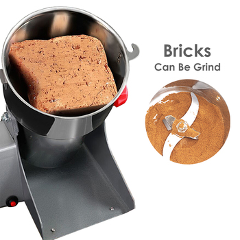Electric Coffee Grinders Kitchen Cereals Nuts Beans Spices Mill Grains Grinding Machine Multifunctional Home Coffe Grinder Herb 400w electric coffee grinder mini grains spices hebals cereals coffee dry food grinder mill grinding machine kitchen appliance