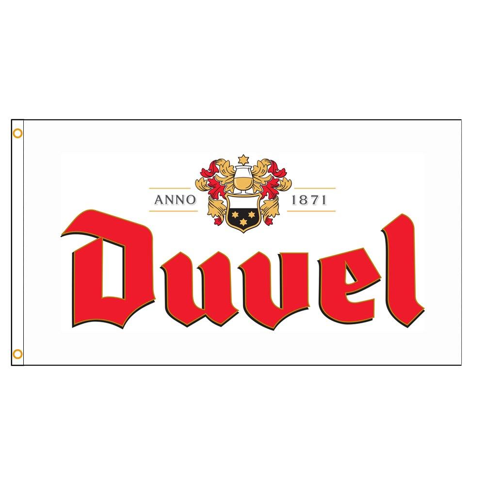 Флаг бельгийского пива Duvel 90x150 см