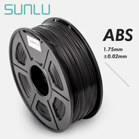 Newest ABS Filament 1.75mm For 3D Printer 100% No Bubble Excellent Quality Plastic ABS Filament For Children Scribble 1KG/2.2LBS