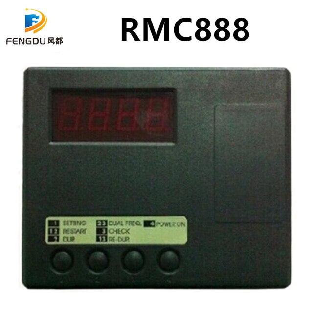 Remocon RMC 888 6 Pin Klom Máquina Dual RF Duplicador de Controle Remoto Compatível