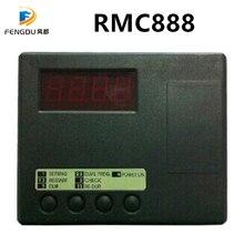 Remocon RMC 888 uzaktan kumanda teksir makinesi çift RF Klom 6 Pin uyumlu