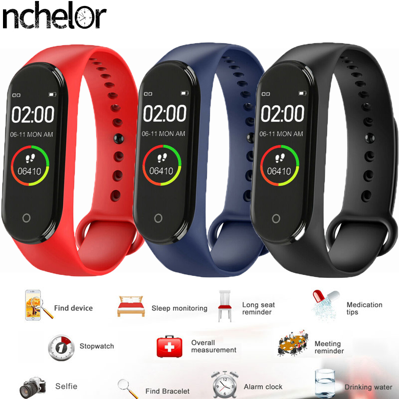 Watch-Top Heart-Rate-Monitor Multi-Language-Bracelet Information Bluetooth Waterproof
