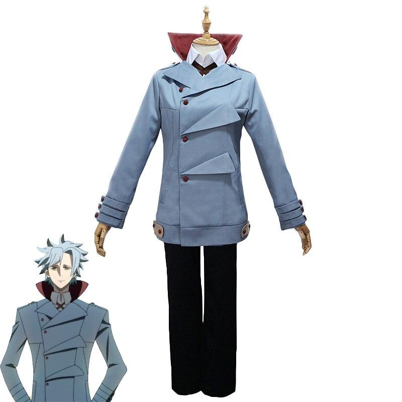 Аниме ID:INVADED Fukuda Tamotsu Карнавальный костюм для взрослых унисекс необычный костюм детектива Карнавальная форма на Хэллоуин на заказ