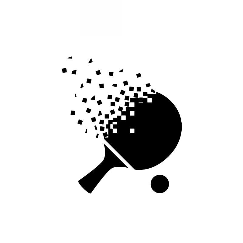 Table tennis bat cartoon - Transparent PNG & SVG vector file