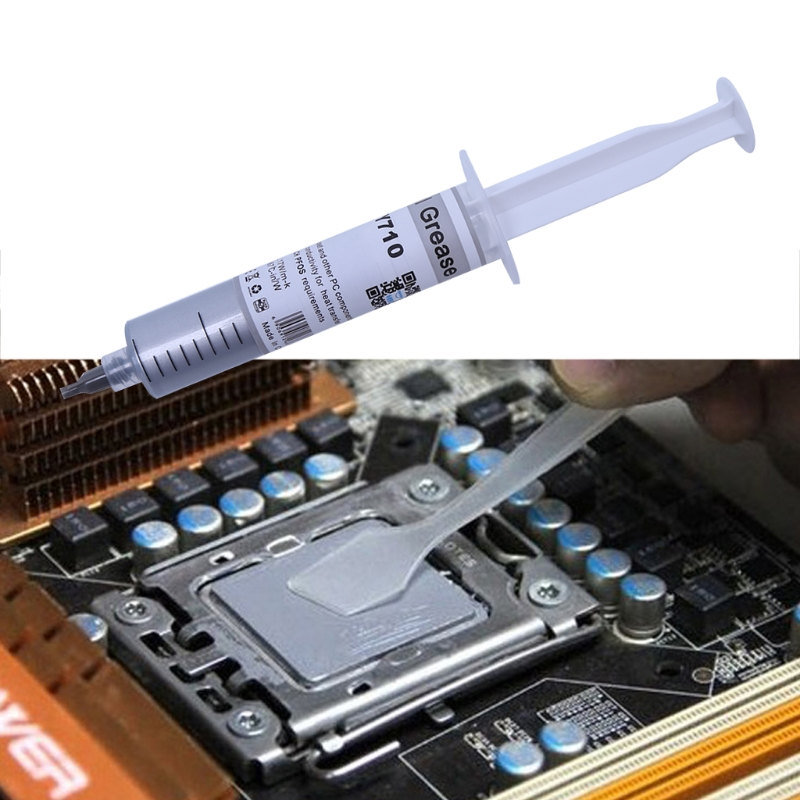 2019 New 30G HY710-TU20 Silver Thermal Grease CPU Chipset Cooling Compound Silicone Paste