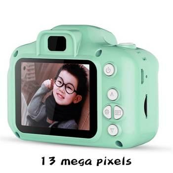 1080P HD Child camera HD digital camera 2 inch cute cartoon Camera toys children birthday gift child toys Camera 8