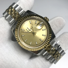 Gold Luxury Brand Watch 36mm & 40mm Automatic glide smooth second hand Mechanical Datejust Watches AAA