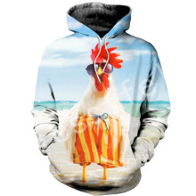 Tessffel Animal chicken Harajuku MenWomen HipHop 3DfullPrinted Sweatshirts/Hoodie/shirts/Jacket  Casual fit colorful camo Style1