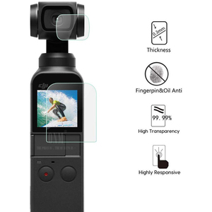 Image 2 - DJI Osmo Pocket Screen Protector Accessories Lens Protective Film Gimbal Cover Accesorios Filter for DJI Osmo Pocket