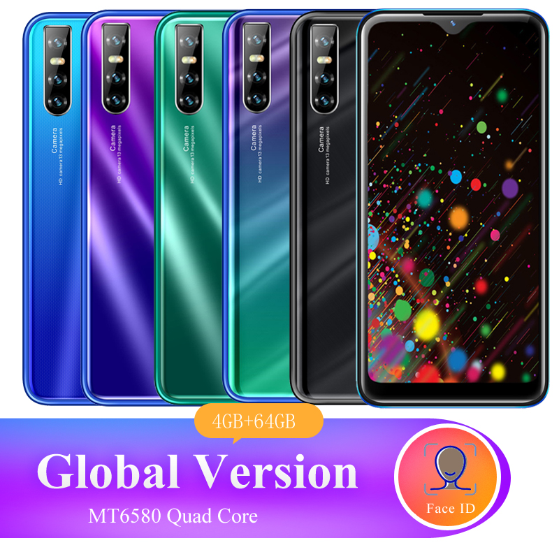Telefone móvel p20 pro 4 gb ram 64 gb rom versão global 6.26 polegada hd tela cheia face id desbloqueado quad core 5mp + 13mp câmera android