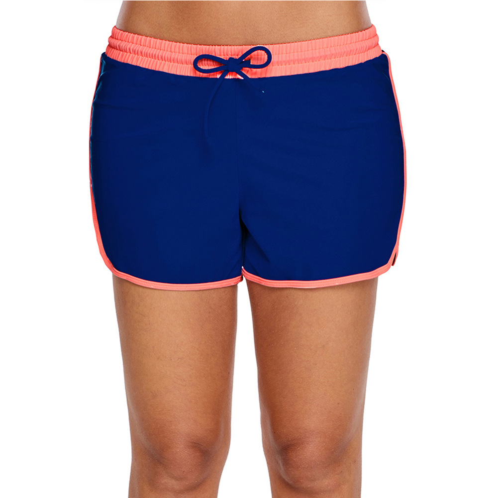 Shi Ying Swimming Trunks Women's Anti-Exposure Boxers One-Piece Case Swimming Trunks Women's Swimming Shorts Conservative Boxers