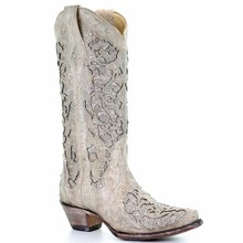 Women Boots Crystal Soft White Plus Size Shoes Boot