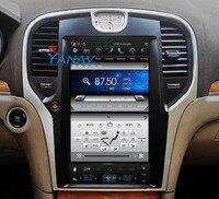 13.3'' Car Gps Navigation for Chrysler 300C 2013+ Car multimedia Vertical Screen Android car dvd player for Chrysler 300C 2013+
