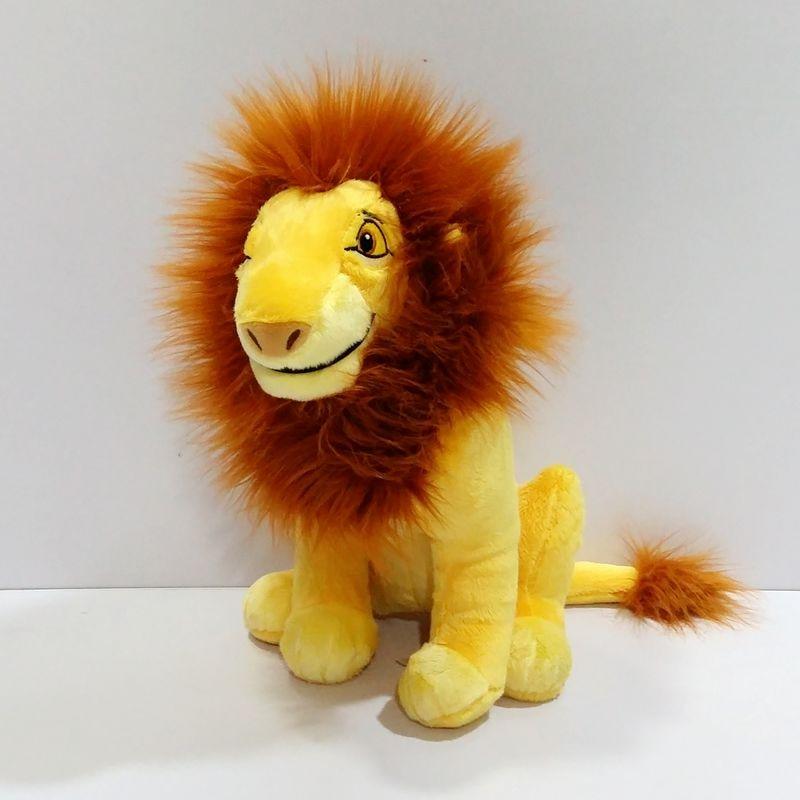 Sitting 32cm Original Cartoon The Lion King Simba Adult Simba plush toy soft boy doll for kids gift