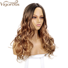 Natural Hair Part Synthetic Wigs for Women