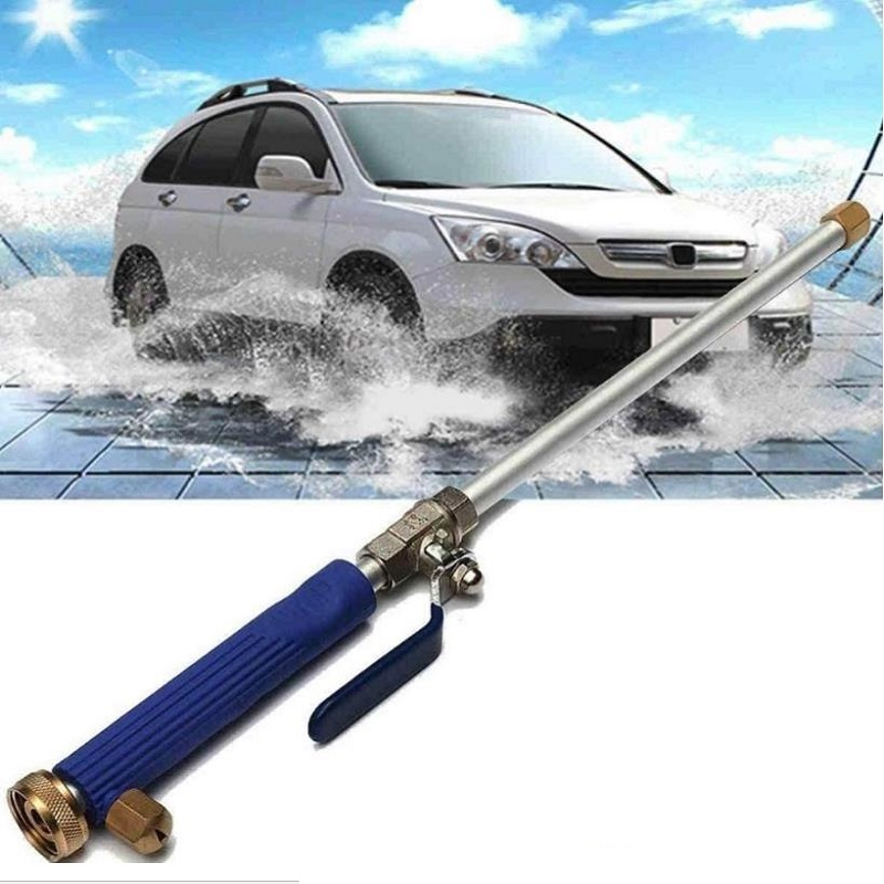 Ev ve Bahçe'ten Bahçe Su Tabancaları'de Araba yüksek basınçlı güç su tabancası Jet bahçe yıkama değnek memesi temizleme aracı title=