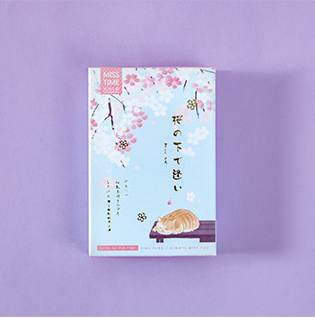 Pink Tree Paper Greeting Card Lomo Card(1pack=28pieces)