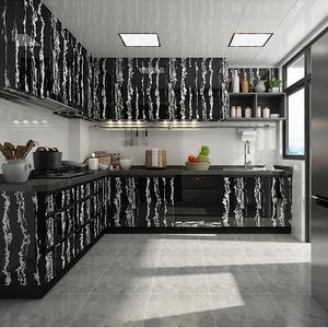 Image 3 - Мраморная виниловая пленка , самоклеящаяся настенная бумага для ванной комнаты, кухни, столешницы, контактная бумага, ПВХ водонепроницаемые наклейки на стену