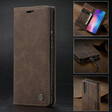 For Xiaomi Mi9 Retro Magnetic Wallet Leather Case For Xiaomi 9T Redmi K20Pro Luxury Stand Flip Protective Cover Case Capa leather case protective flip cover with window for xiaomi max gray
