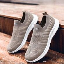 цена New Running Shoes Unisex Sport Shoes Mesh Outdoor Sneakers Cheap Ladies Male Comfortable Women Walking Shoes Plus Size 35-46 онлайн в 2017 году