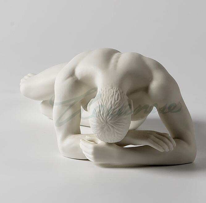 Креативная декоративная керамика матовая художественная осанка ручная поддержка подарки на день рождения украшения для дома горячий стил...