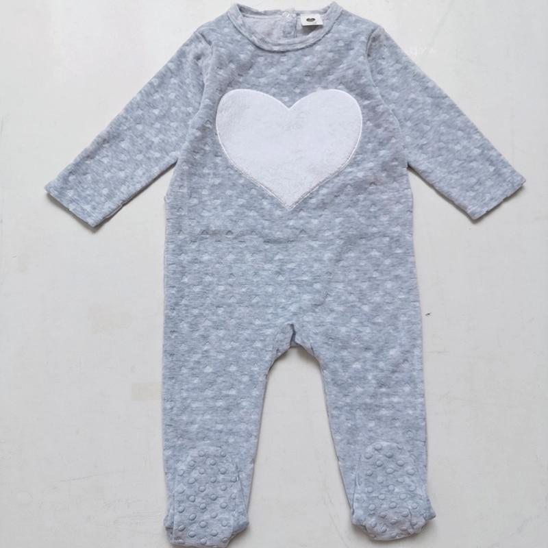 Детский комбинезон, Пижама детская одежда с длинными рукавами детская одежда для новорожденных; Комбинезоны для маленьких мальчиков Одежд...