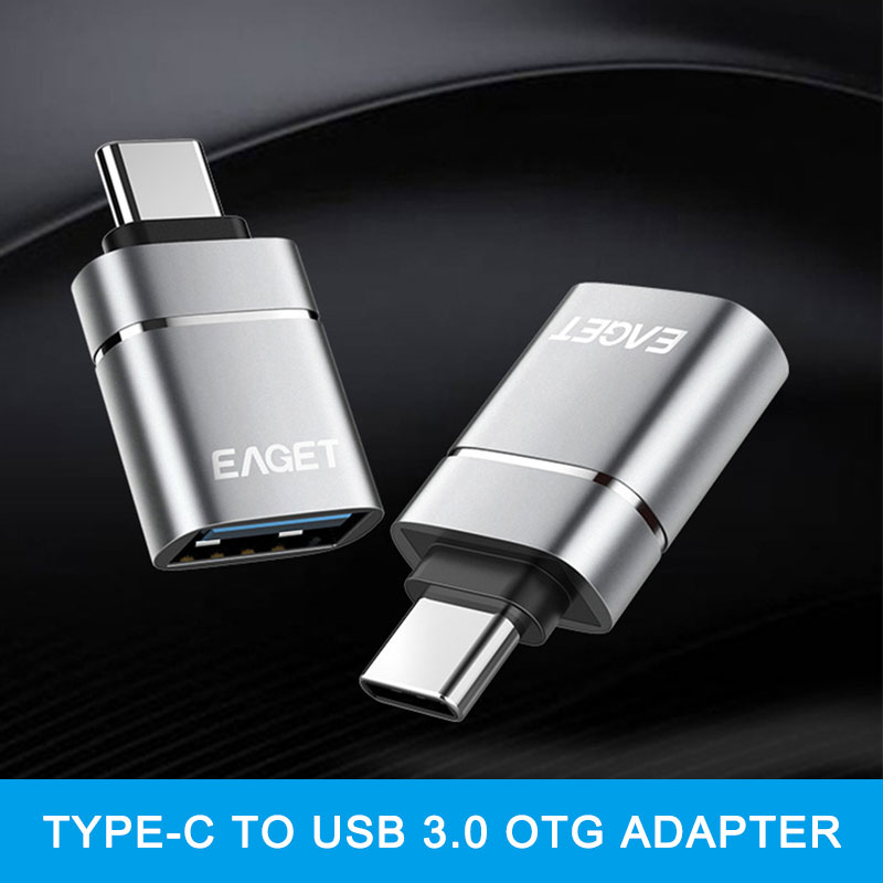 EAGET USB C Adapter Type C To USB 3.0 Adapter Thunderbolt 3 Type-C Adapter OTG Cable For Macbook Pro Air Samsung S10 S9 USB OTG