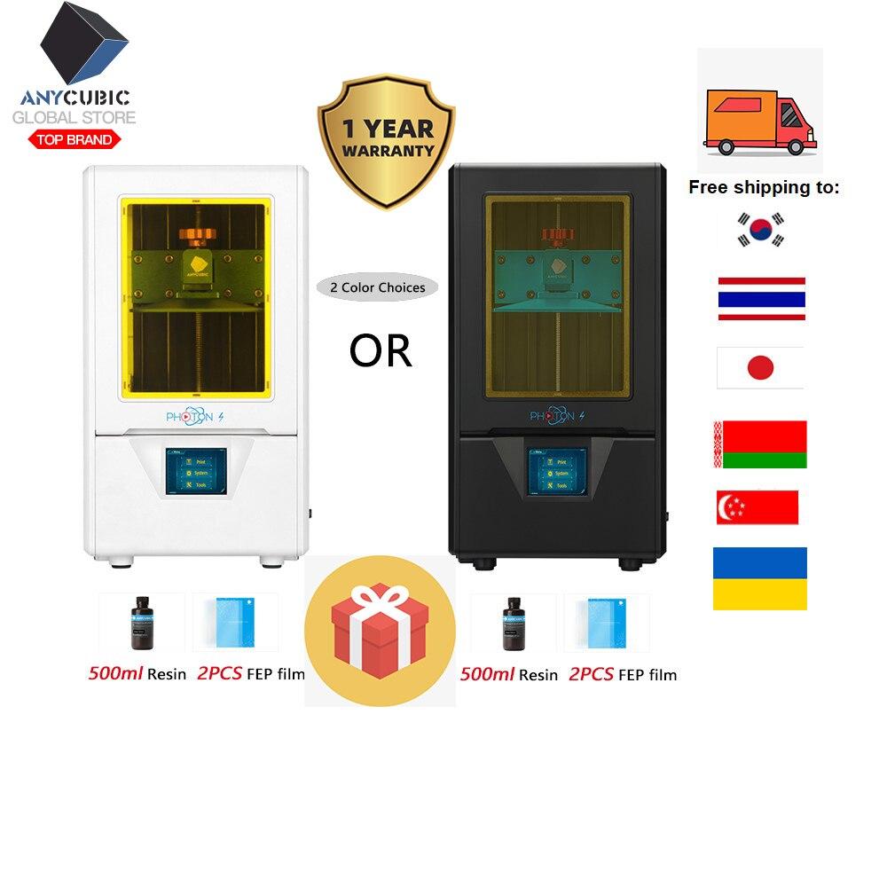 ANYCUBIC Photon S Resin 3d Printer DIY UV sla 3D Color printer LCD Off-Line Impressora Desktop Touch Screen impresora 3d resina