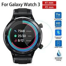 Protecteur d'écran pour montre, pour Samsung Galaxy Watch 3 41mm 45mm, coque, accessoires