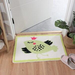 Image 3 - קריקטורה בעלי החיים שאגי שפשפת נגד החלקה לטקס תחתון כניסה מקורה רצפת מחצלת מכונה לשטוף מטבח שטיח אמבטיה שטיח