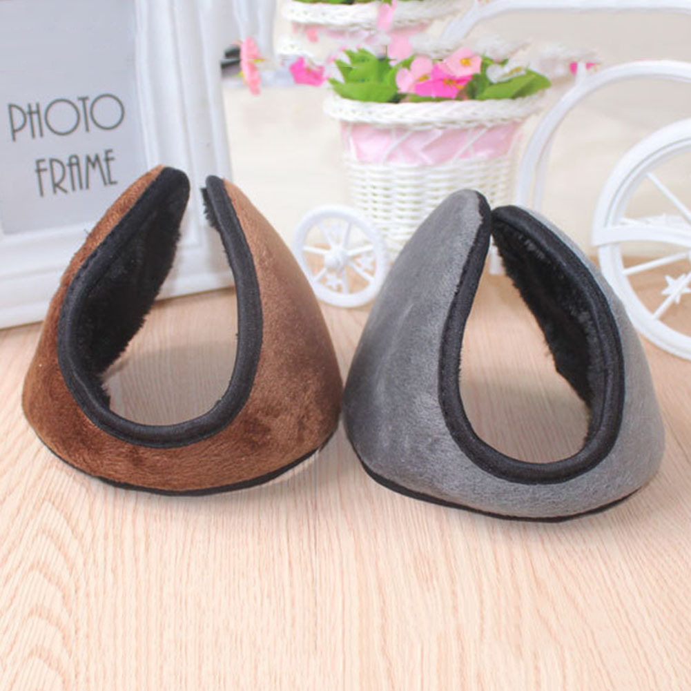 New Arrival Unisex Colorful Winter Fleece Warmer Earmuff Fashion Plush Ear Muffs For Men Women Accessories