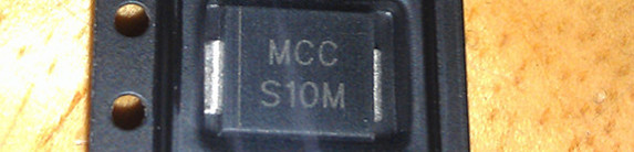 10pcs/lot Chip Rectifier Diode S10M 10A 1000V DO-214AB MCC Brand
