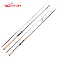 TSURINOYA TIEFE ANGRIFF 2,28 m 2,47 m Spinning Casting Rod Carbon Lure Angelrute FUJI Zubehör Bass Angelrute stehen
