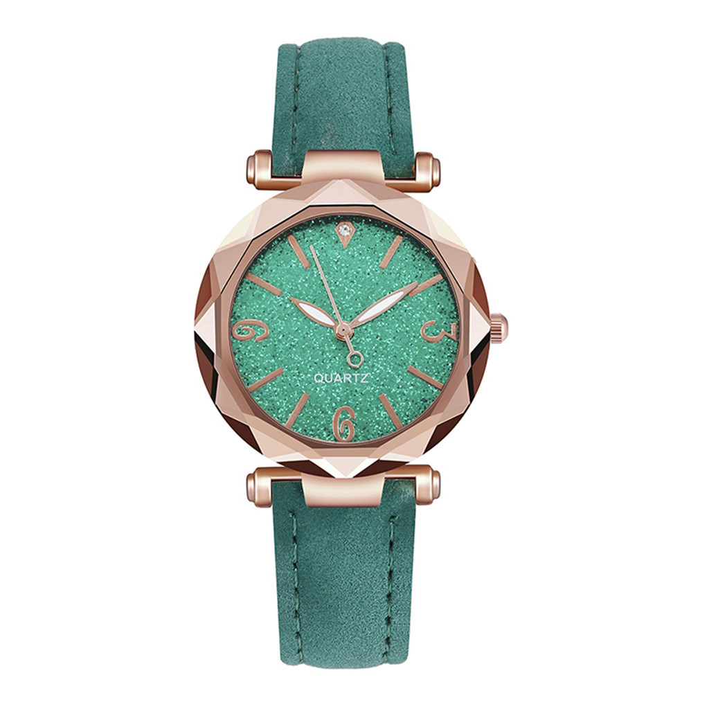 2020 New Women Watch Ladies Watch Colorful Luxury Delicate rhinestone Watches Quartz Watch Frosted dial Female Bracele Watch YE1