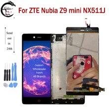 Màn Hình LCD Khung Cho ZTE Nubia Z9 Mini NX511J Full Màn Hình LCD Hiển Thị Màn Hình Cảm Ứng Cảm Biến Bộ Số Hóa Thay Thế Z9mini Màn Hình Hiển Thị