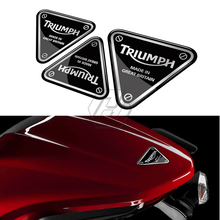 3D Motorcycle Decal Screw Patch Sticker Case for Triumph 675/675R SPEED TRIPLE 1050/1050R TIGER 800