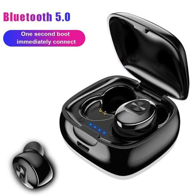 New XG12 TWS Bluetooth Wireless 5.0 Single Earphone 5D Stereo HIFI Sound Sport In Earphones Handsfree Gaming Headset with Mic