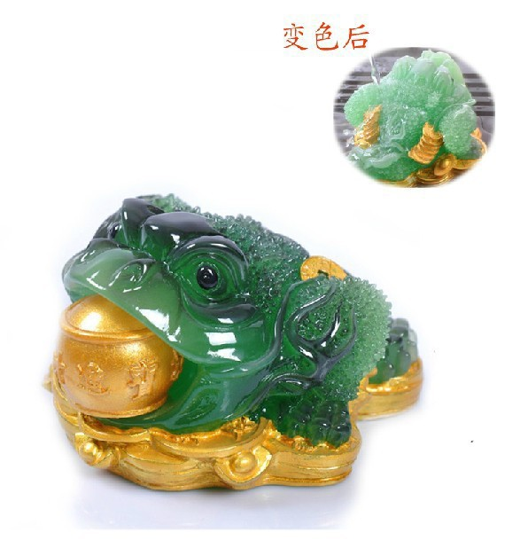 Manufacturers Direct Selling Color Changing Golden Toad Tea Ornaments Boutique Tea Tray Tea Set Tea Ceremony Set Fortune|Tea Napkins| |  - title=