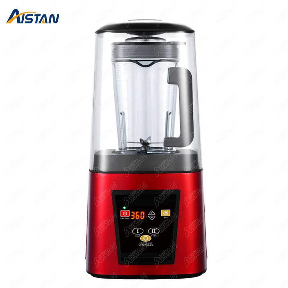 A7700 Aistan hohe geschwindigkeit kommerziellen entsafter mixer Neue 85 dezibel Silent Sound isolierung für Kaffee Bar Shop 1800W 1,8 liter